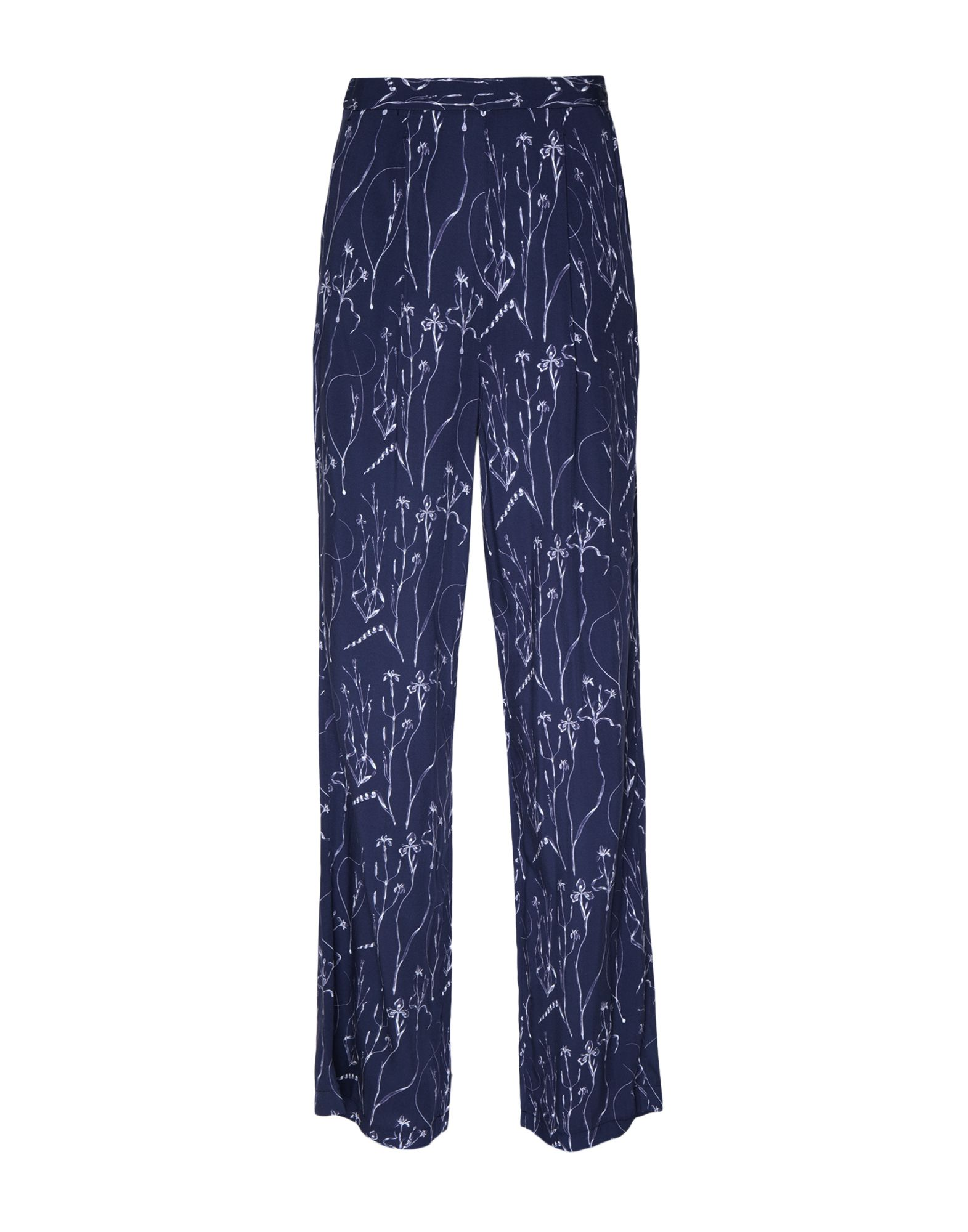 8 by YOOX Повседневные брюки брюки дудочки 7 8 с рисунком