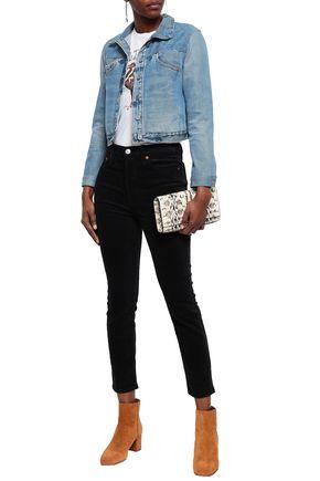 RE/DONE Cotton-blend corduroy slim-leg pants
