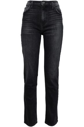 CURRENT/ELLIOTT The Stovepipe Torpedo high-rise skinny jeans