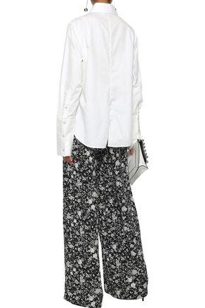 ZIMMERMANN Floral-print silk wide-leg pants