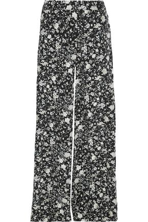 ZIMMERMANN Floral-print silk wide-leg pants