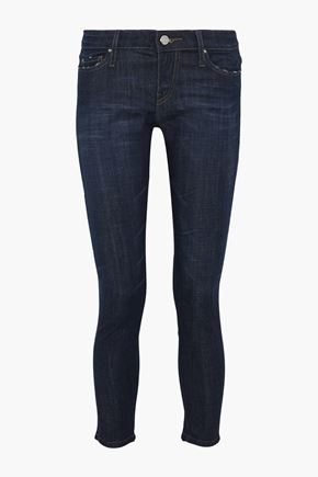 IRO Alysond cropped low-rise skinny jeans