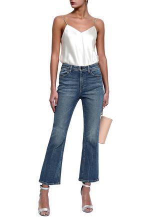 ALEXANDER WANG Grind high-rise bootcut jeans