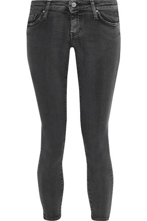 IRO Alyson cropped low-rise skinny jeans