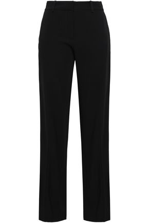EQUIPMENT Satin-trimmed straight-leg pants
