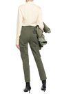 MARC JACOBS Cotton-gabardine slim-leg pants