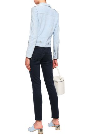 7 FOR ALL MANKIND Stretch-twill slim-leg pants