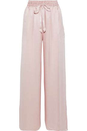 ZIMMERMANN Washed-silk wide-leg pants