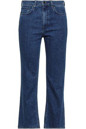 RAG & BONE Hannah cropped high-rise bootcut jeans