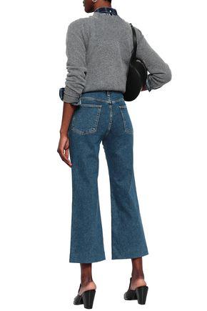 RAG & BONE Cropped high-rise kick-flare jeans