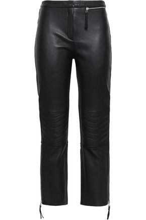 BY MALENE BIRGER Leather straight-leg pants