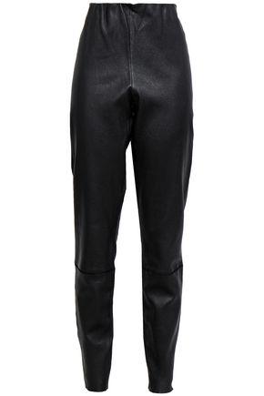 BY MALENE BIRGER Leather skinny pants