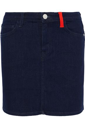 CURRENT/ELLIOTT The 5 Pocket denim mini skirt