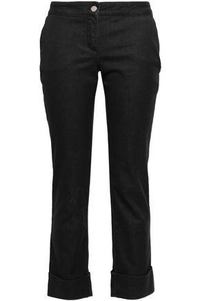 PIAZZA SEMPIONE Mid-rise slim-leg jeans