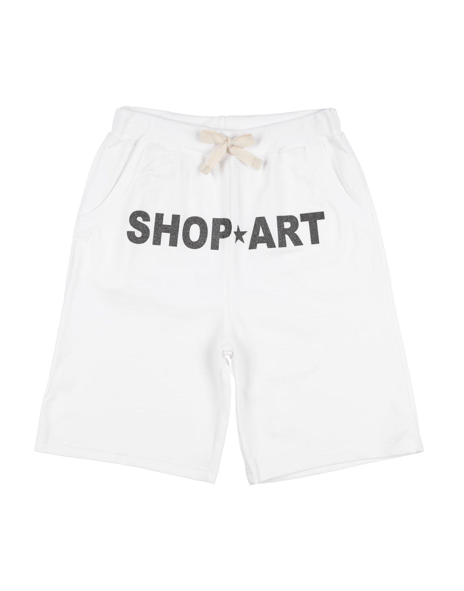 Shop ★ Art Kids' Shop ★ Art Bermudas In White