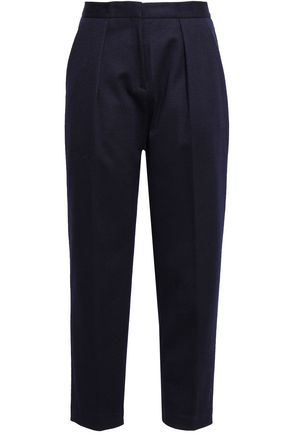 BY MALENE BIRGER Cropped felt tapered pants