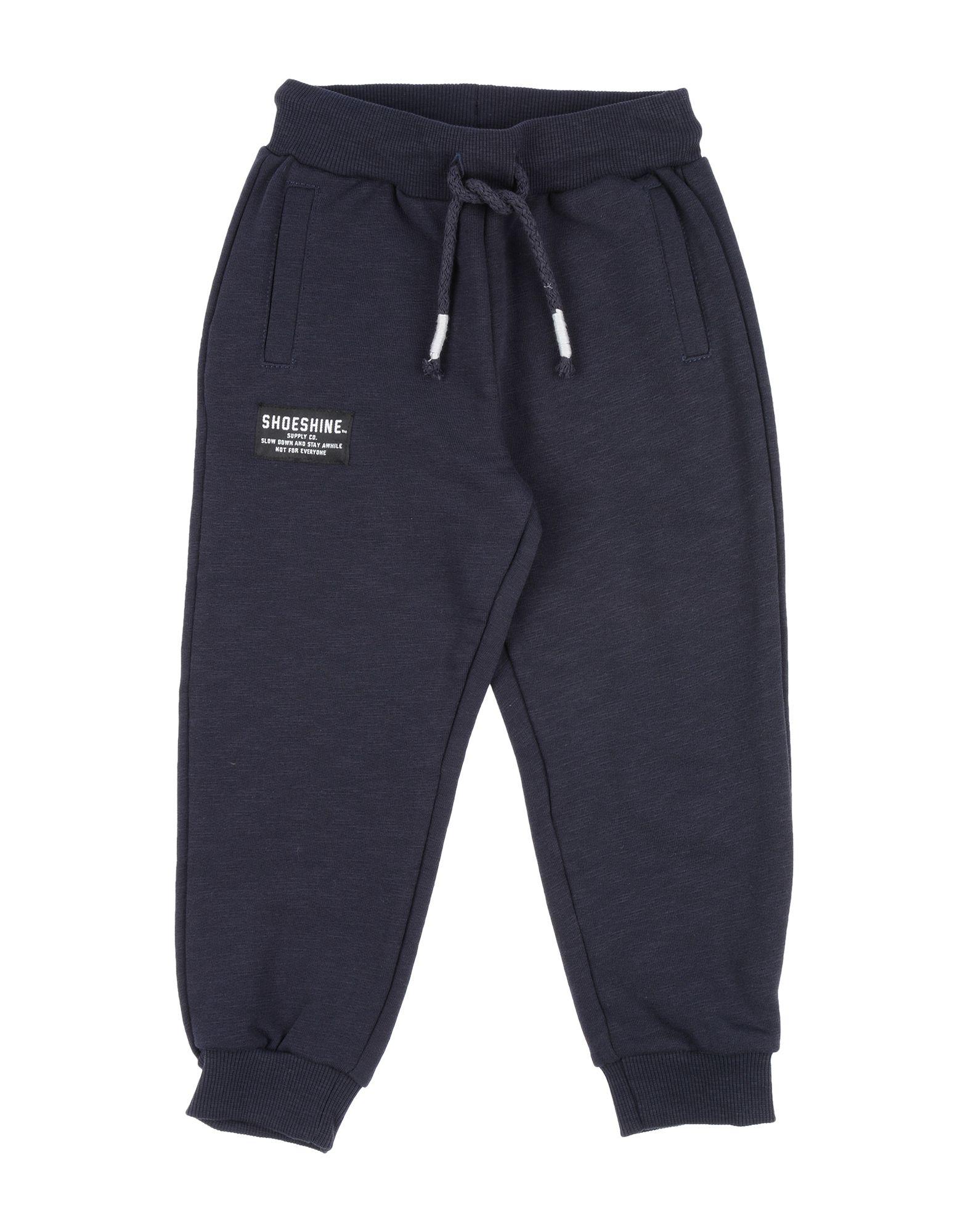 Shoeshine Kids' Casual Pants In Dark Blue