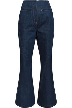 ESTEBAN CORTAZAR High-rise flared jeans
