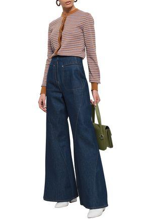 ESTEBAN CORTAZAR High-rise flared jeans