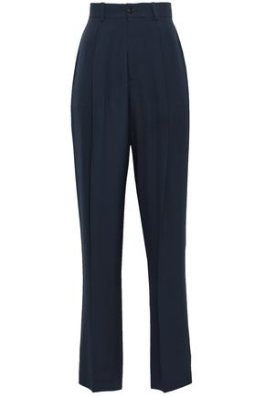 JOSEPH Silk-crepe straight-leg pants