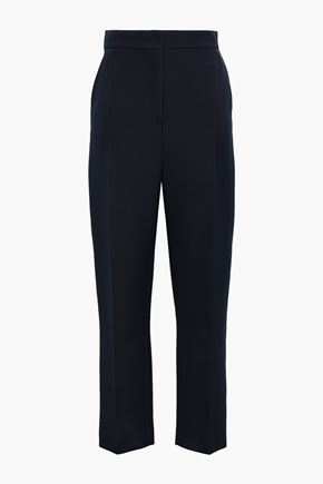 JOSEPH Virgin wool-blend straight-leg pants