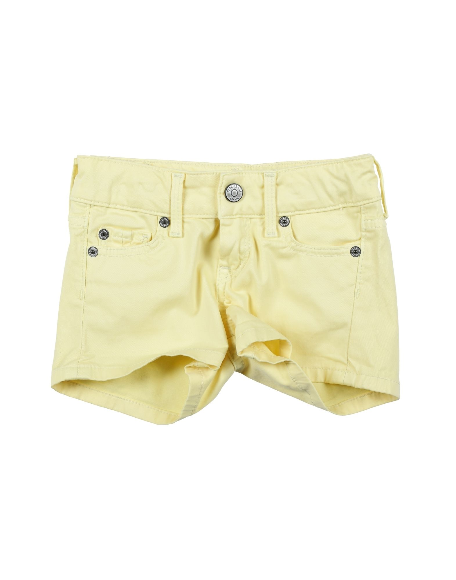 Pepe Jeans Kids' Shorts In Yellow