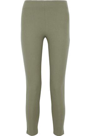 JOSEPH Nitro cropped stretch-gabardine leggings