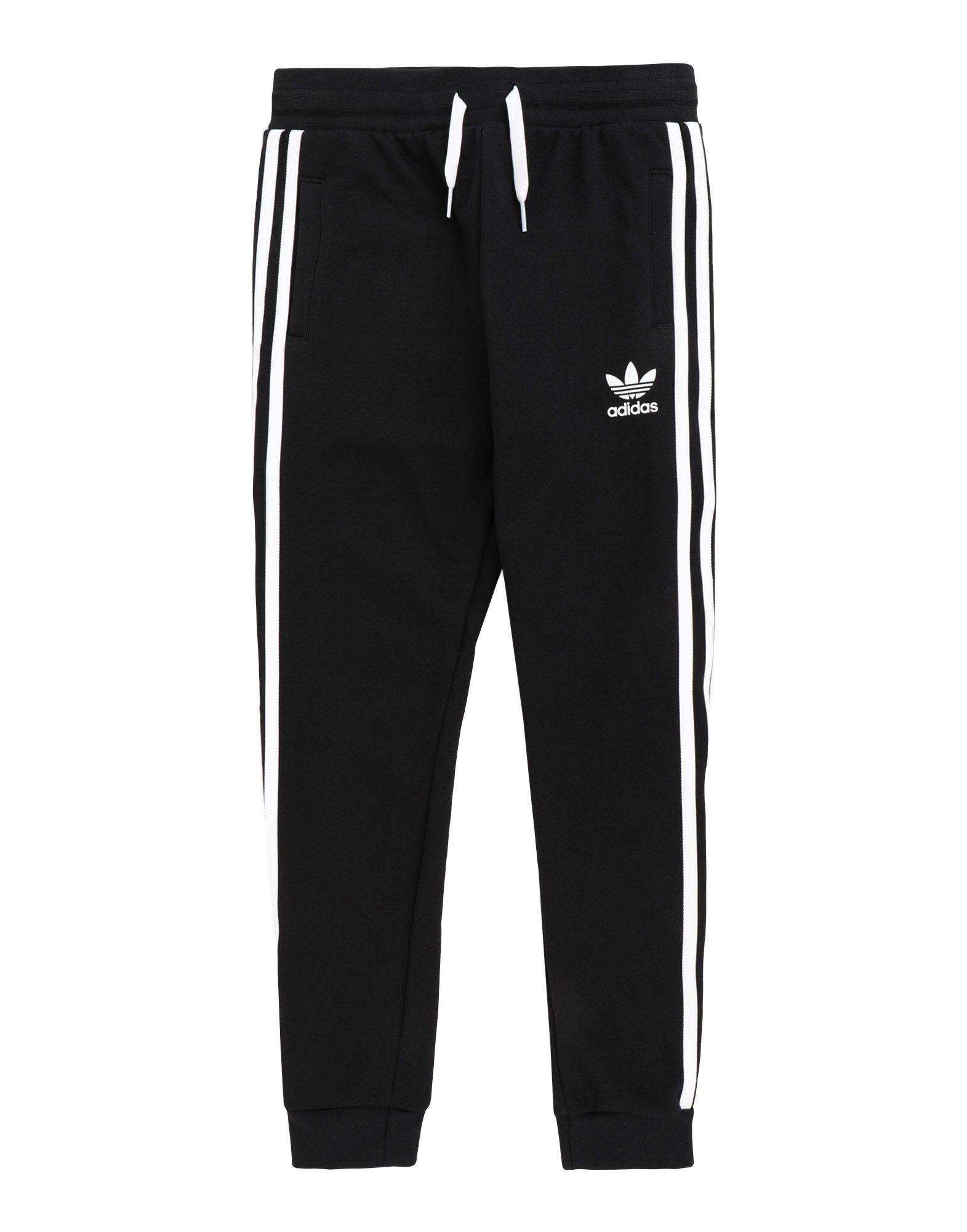 ADIDAS ORIGINALS ボーイズ パンツ TREFOIL PANTS ブラック
