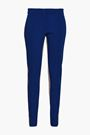 DEREK LAM Striped crepe slim-leg pants