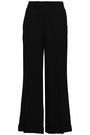DEREK LAM Cropped crepe wide-leg pants