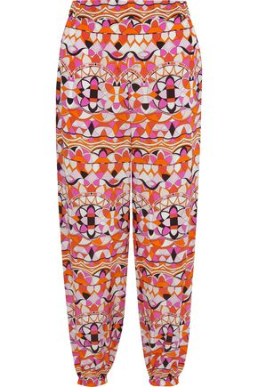 EMILIO PUCCI Tapered Pants