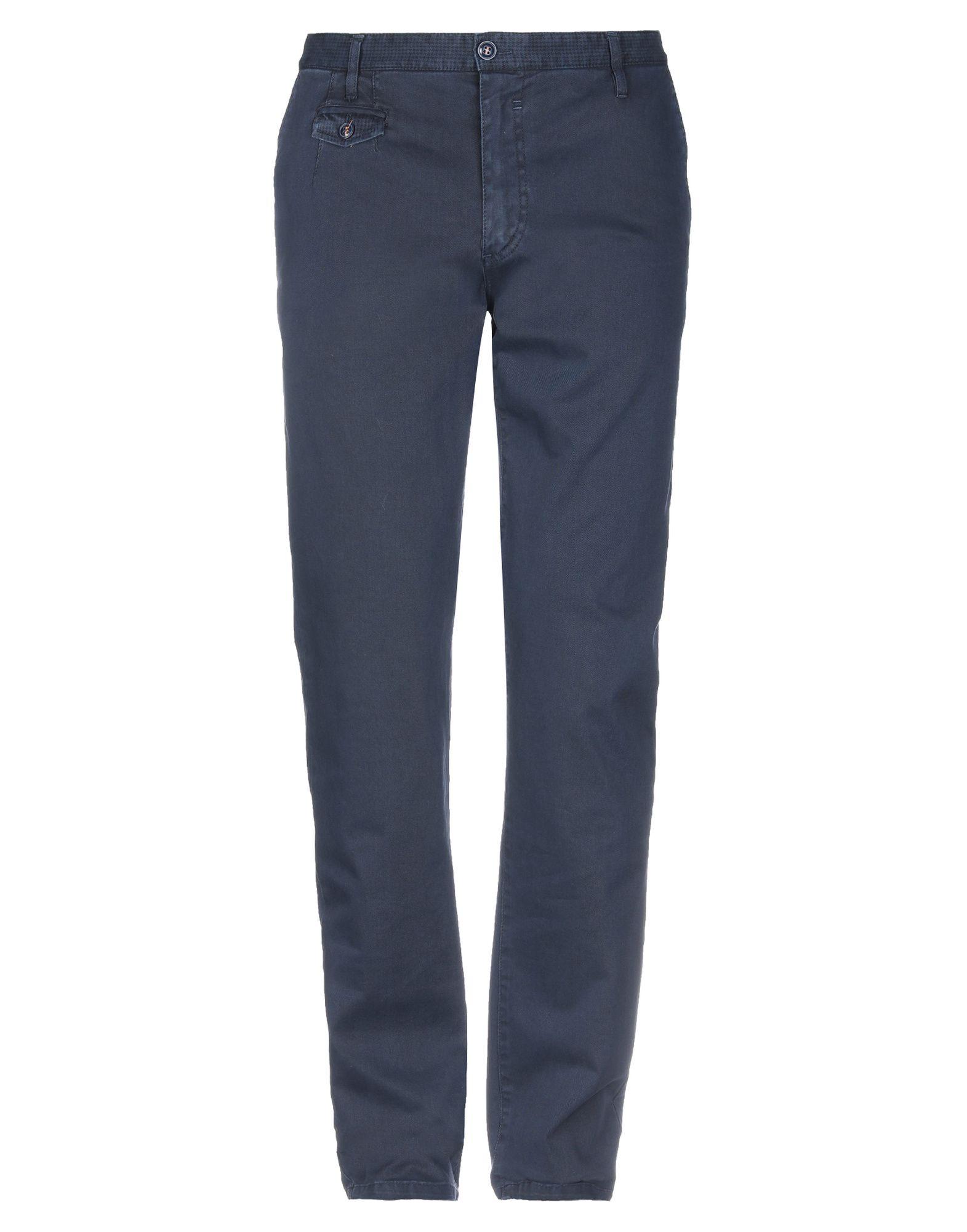 《セール開催中》PHIL GREY メンズ パンツ ダークブルー 54 紡績繊維