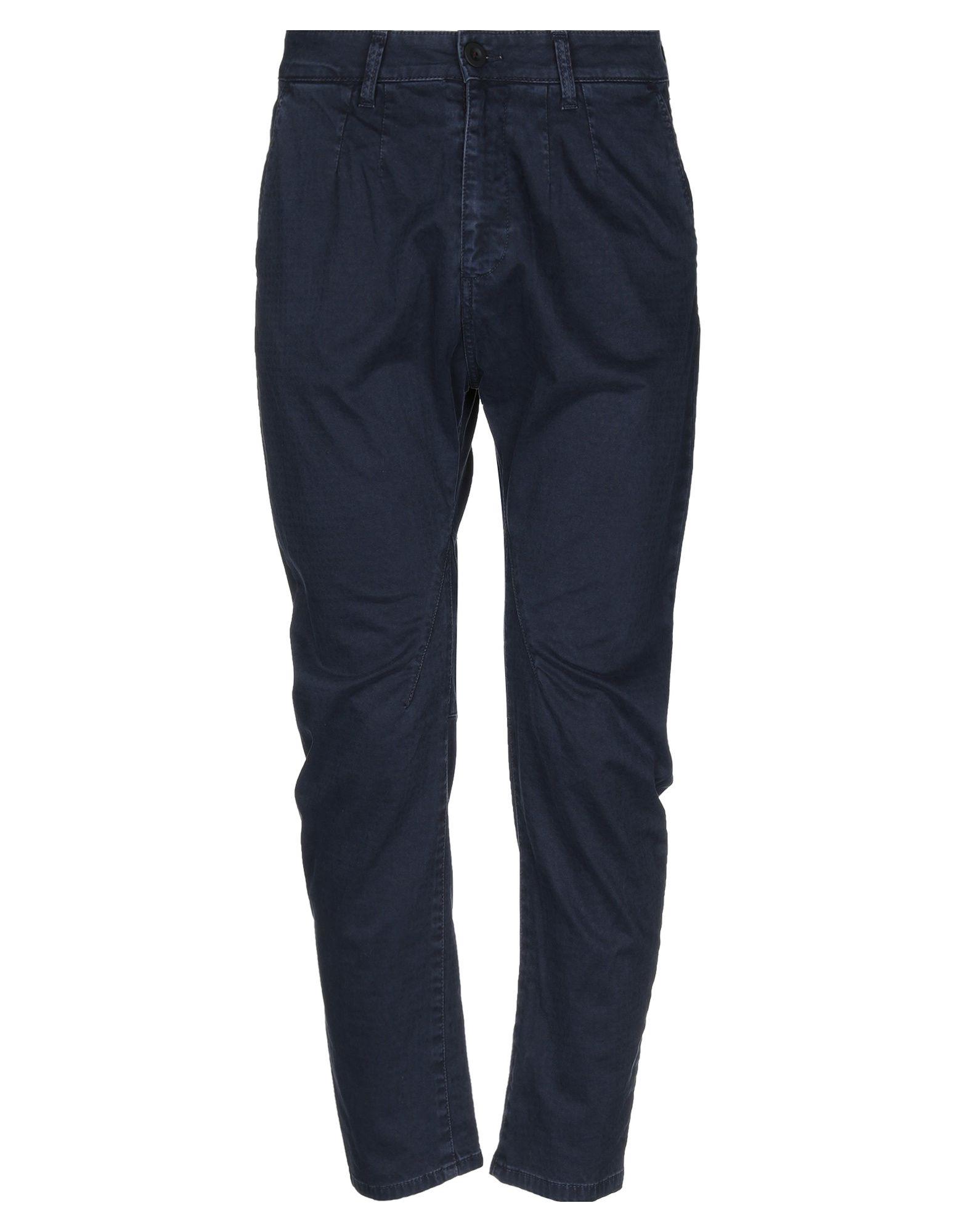 《セール開催中》PHIL GREY メンズ パンツ ダークブルー 38 コットン 98% / ポリウレタン 2%