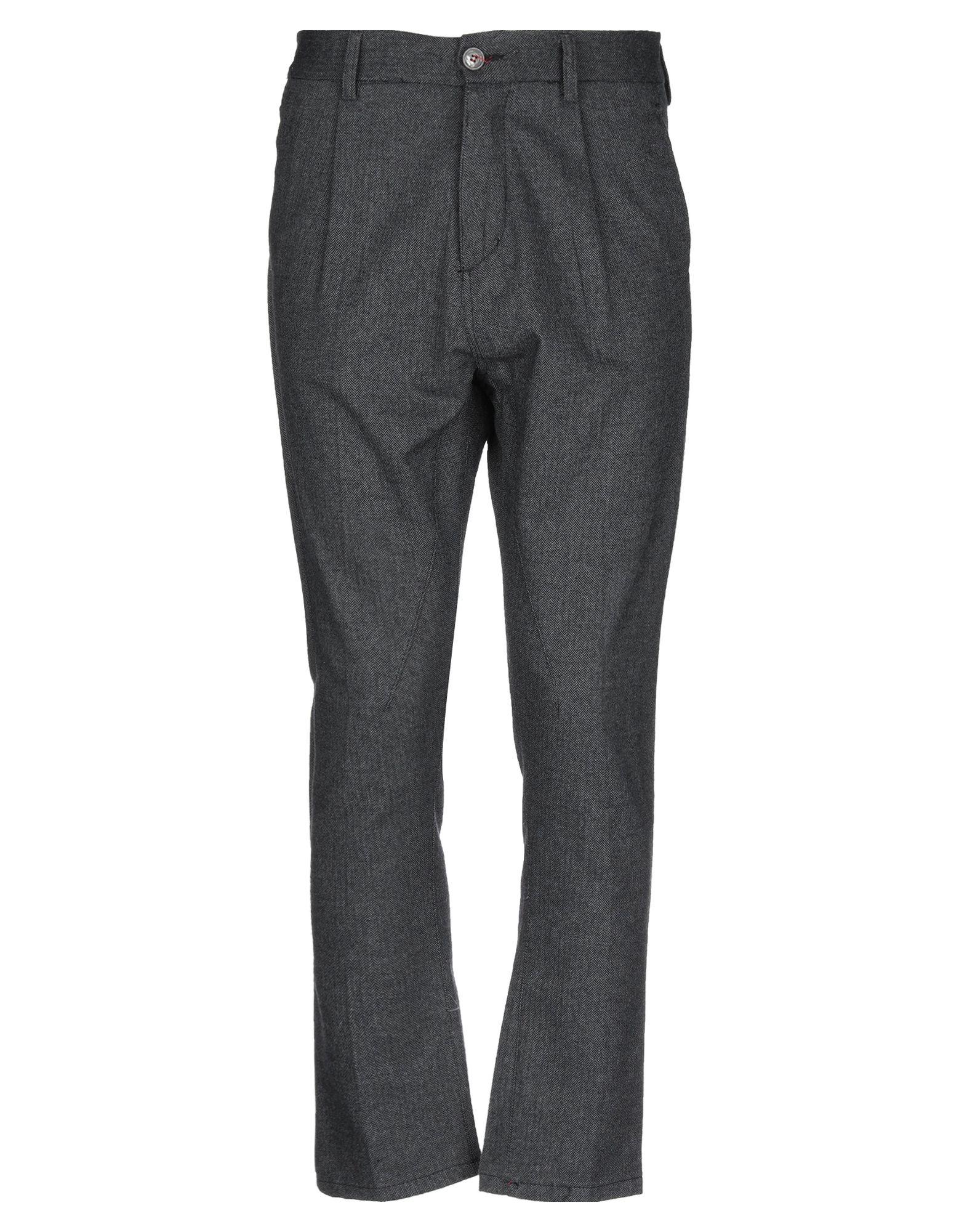 《セール開催中》PHIL GREY メンズ パンツ 鉛色 46 コットン 97% / ポリウレタン 3%