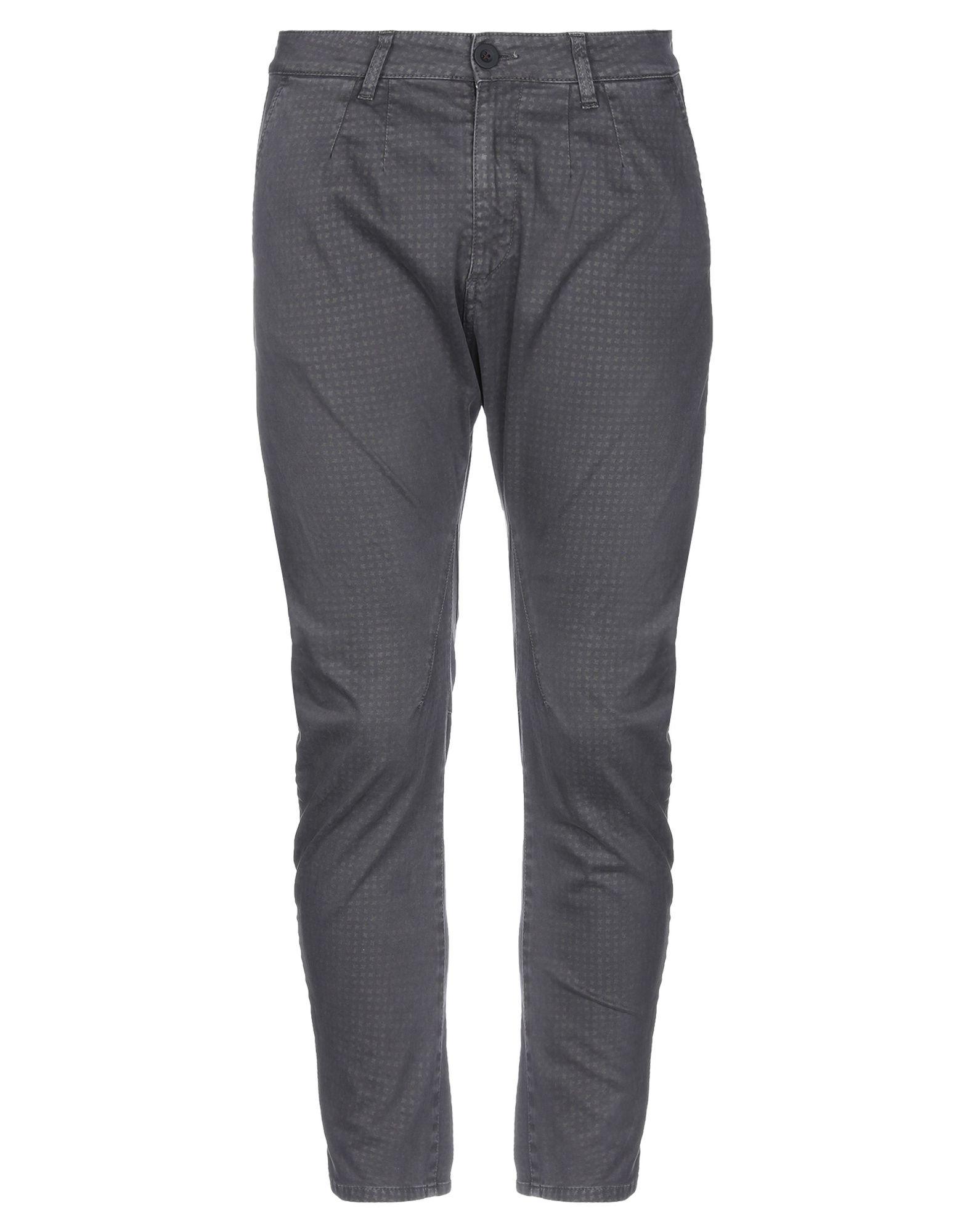 《セール開催中》PHIL GREY メンズ パンツ 鉛色 32 コットン 98% / ポリウレタン 2%