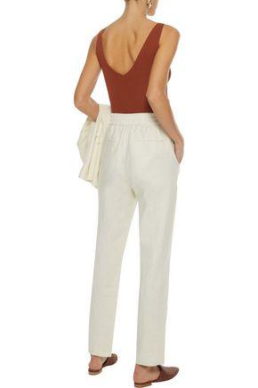 IRIS & INK Ivy linen straight-leg pants