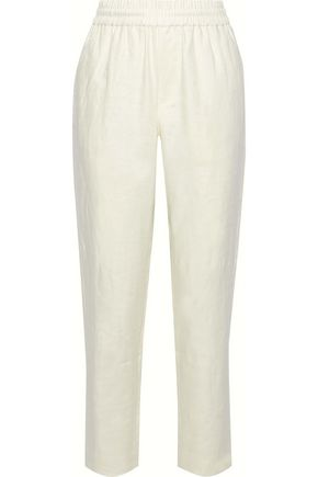 IRIS & INK Ivy linen straight-leg pants
