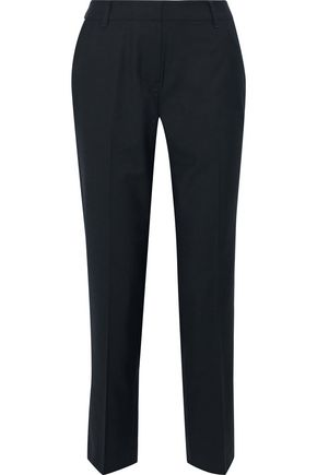 IRIS & INK Estelle twill slim-leg pants