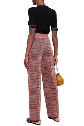 M MISSONI Knitted straight-leg pants