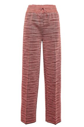 M MISSONI Knitted straight-leg pants