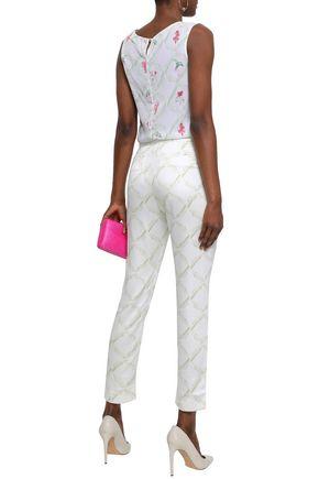 ISOLDA Twill straight-leg pants
