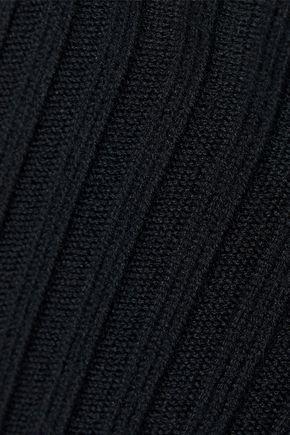 EQUIPMENT Arwen houndstooth silk wide-leg pants