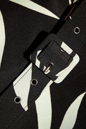 エトロ シルククレープ ワイドレッグ パンツ