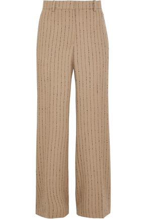 ACNE STUDIOS Maya pinstriped wool-blend straight-leg pants