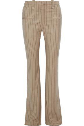 ALTUZARRA Serge pinstriped wool-blend twill bootcut pants