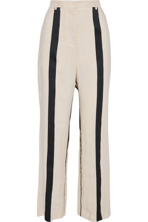 ACNE STUDIOS Obel striped woven wide-leg pants
