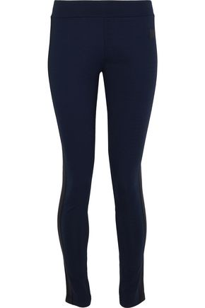 ACNE STUDIOS Faya appliquéd stretch-jersey leggings