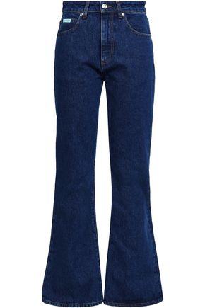 ALEXACHUNG Konawa high-rise flared jeans