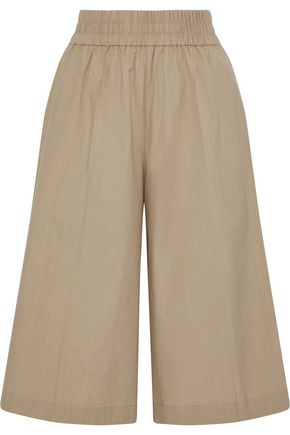 ACNE STUDIOS Imri Pop gathered cotton-poplin culottes