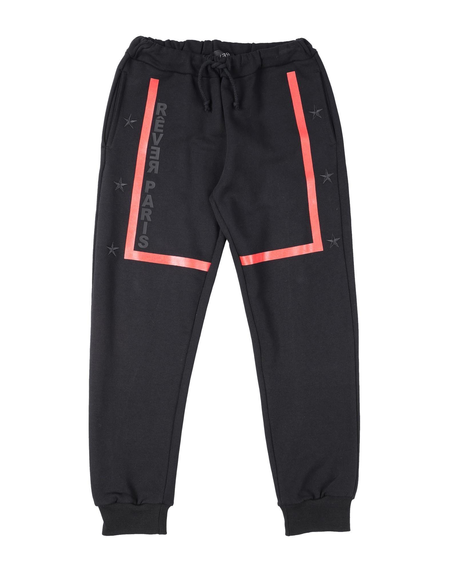 Rêver  Paris Kids' Casual Pants In Black